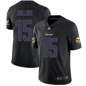 Nike Alexander Hollins Minnesota Vikings Youth Limited Black Impact Jersey