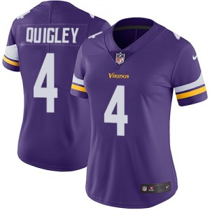 Nike Ryan Quigley Minnesota Vikings Women's Limited Purple Team Color Jersey
